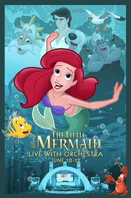 The Little Mermaid In Concert